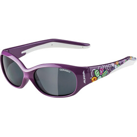 Alpina Flexxy Glasses Kinder purple flower